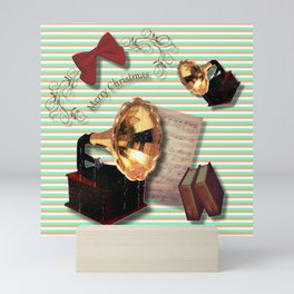 Merry Christmas art decor Mini Art Print