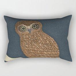 Boobook Owl Rectangular Pillow