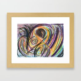 Rain Junky Framed Art Print