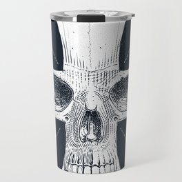 skull and cross Travel Mug