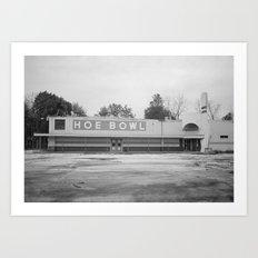 Hoe Bowl Art Print