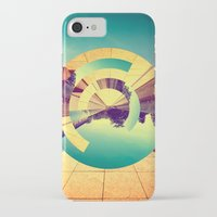 doors iPhone & iPod Cases featuring L'Infinito by Victor Vercesi