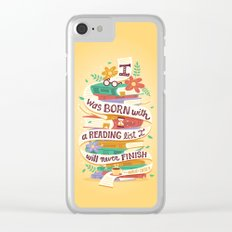 Reading list Clear iPhone Case