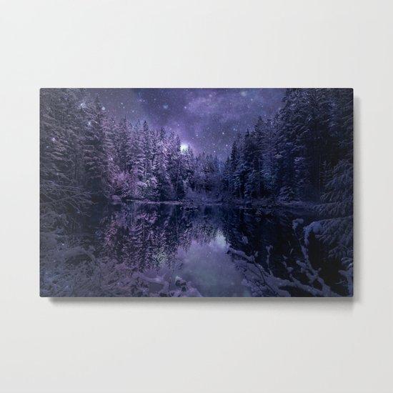A Cold Winter's Night Metal Print