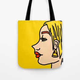 Pepperoni Pizza Polly | Veronica Nagorny Tote Bag