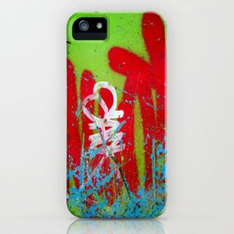 Jardin De Graffiti iPhone Case