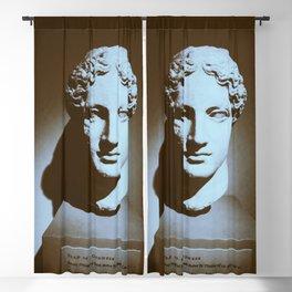 Head of a Goddess - photo Blackout Curtain