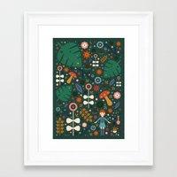 nausicaa Framed Art Prints featuring Nausicaa by Carly Watts