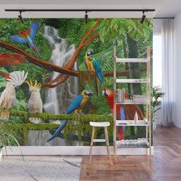 Enchanted Jungle Wall Mural