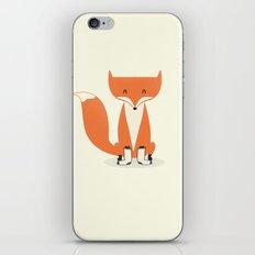 A Fox With Socks iPhone Skin