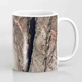 Painted Black Canyon of the Gunnison Walls Coffee Mug