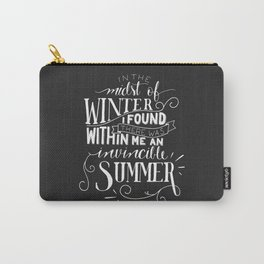 Albert Camus - In the Midst of Winter Carry-All Pouch