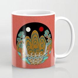 Minhwa: Sun, Moon and 5 Peaks: King's painting A_2 Type Coffee Mug