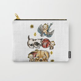Kewpies & Baby Animals Flash  Carry-All Pouch