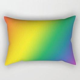Gay Pride Gradient Rectangular Pillow