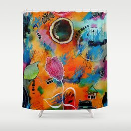 Time to Emerge Shower Curtain