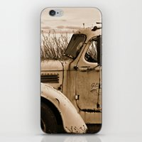 truck iPhone & iPod Skins featuring Vintage Truck by Urlaub Photography