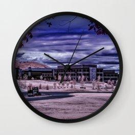 Martha Jefferson Hospital in Infrared Wall Clock