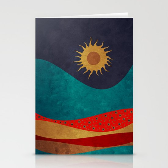 color under the sun Stationery Cards