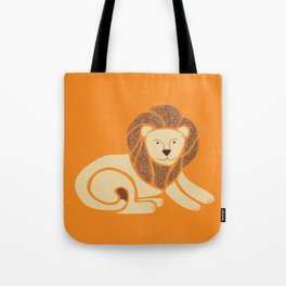 L is for Lion (Text free) Tote Bag