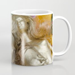 golden barbie with flower Coffee Mug