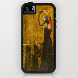 Living in a Nuclear World iPhone Case