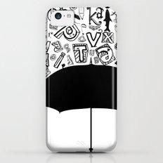 Letter Rain iPhone 5c Slim Case