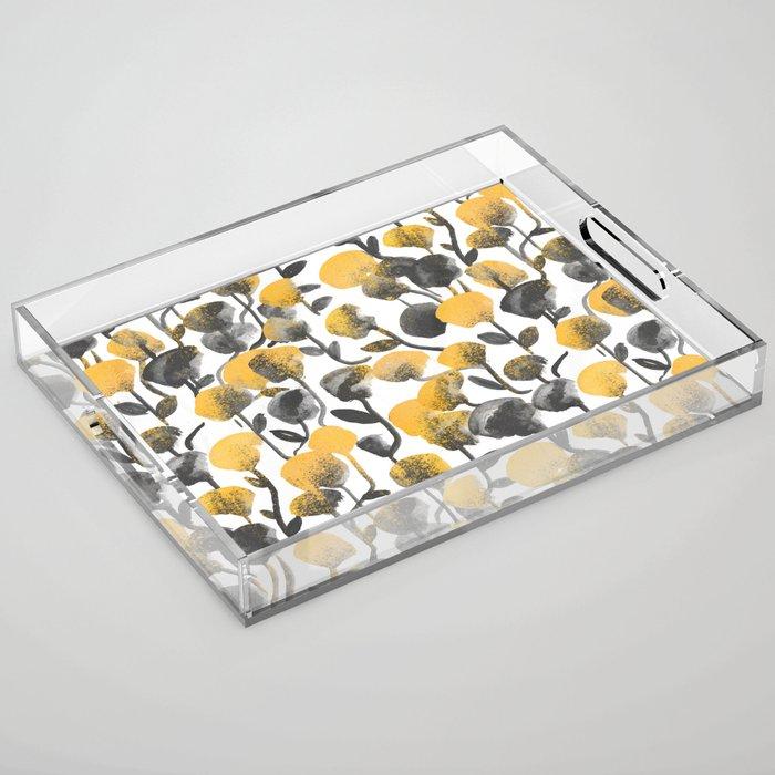 Full Of Flower Acrylic Tray