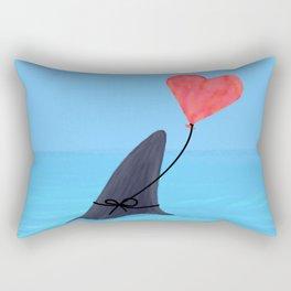 Original Shark Love Design Rectangular Pillow