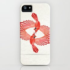 red cardinal iPhone SE Slim Case