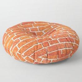 Brick wall patern Floor Pillow
