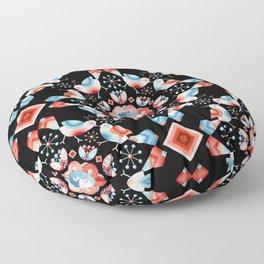 Lovebird Lattice Floor Pillow