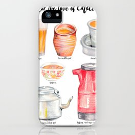 for the love of chai iPhone Case