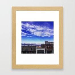 Downtown Jerome Framed Art Print