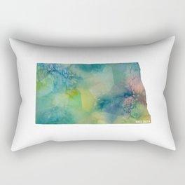North Dakota State Rectangular Pillow