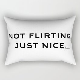 just nice. Rectangular Pillow