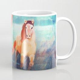 Horse - Fire - Color Coffee Mug