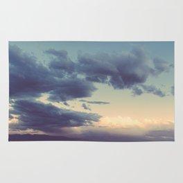 Storm in the Desert Rug