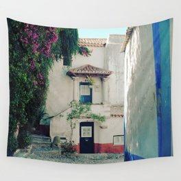 Portugal, Obidos (RR 183) Analog 6x6 odak Ektar 100 Wall Tapestry
