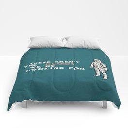 "OBI WAN""s doing Comforters"