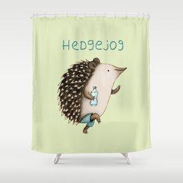 Hedgejog Shower Curtain