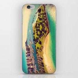 Ala Moana Beach Park, Magic Island, and Diamond Head  iPhone Skin