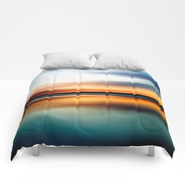 Abstract Landscape 15 Comforters