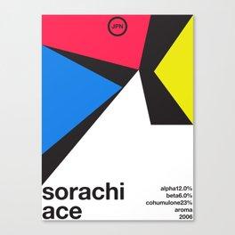 sorachi ace color variant 1 single hop (2018) Canvas Print