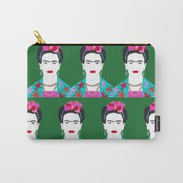 Flowers and Frida Carry-All Pouch