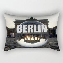 Brandenburg Gate sunset, Berlin Rectangular Pillow