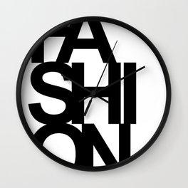 FASHION Book Cover Wall Clock