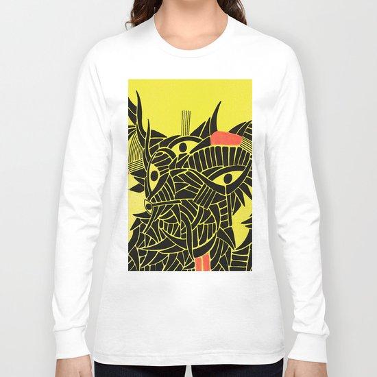 - down - Long Sleeve T-shirt