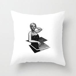 Muse II Throw Pillow