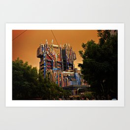 Guardians of the Galaxy: Mission Breakout at California Adventure Art Print